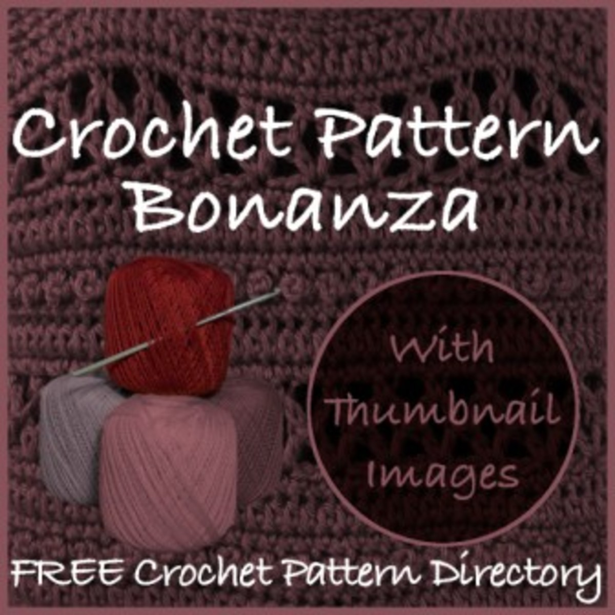 Free Crochet Pattern Directory with Thumbnails