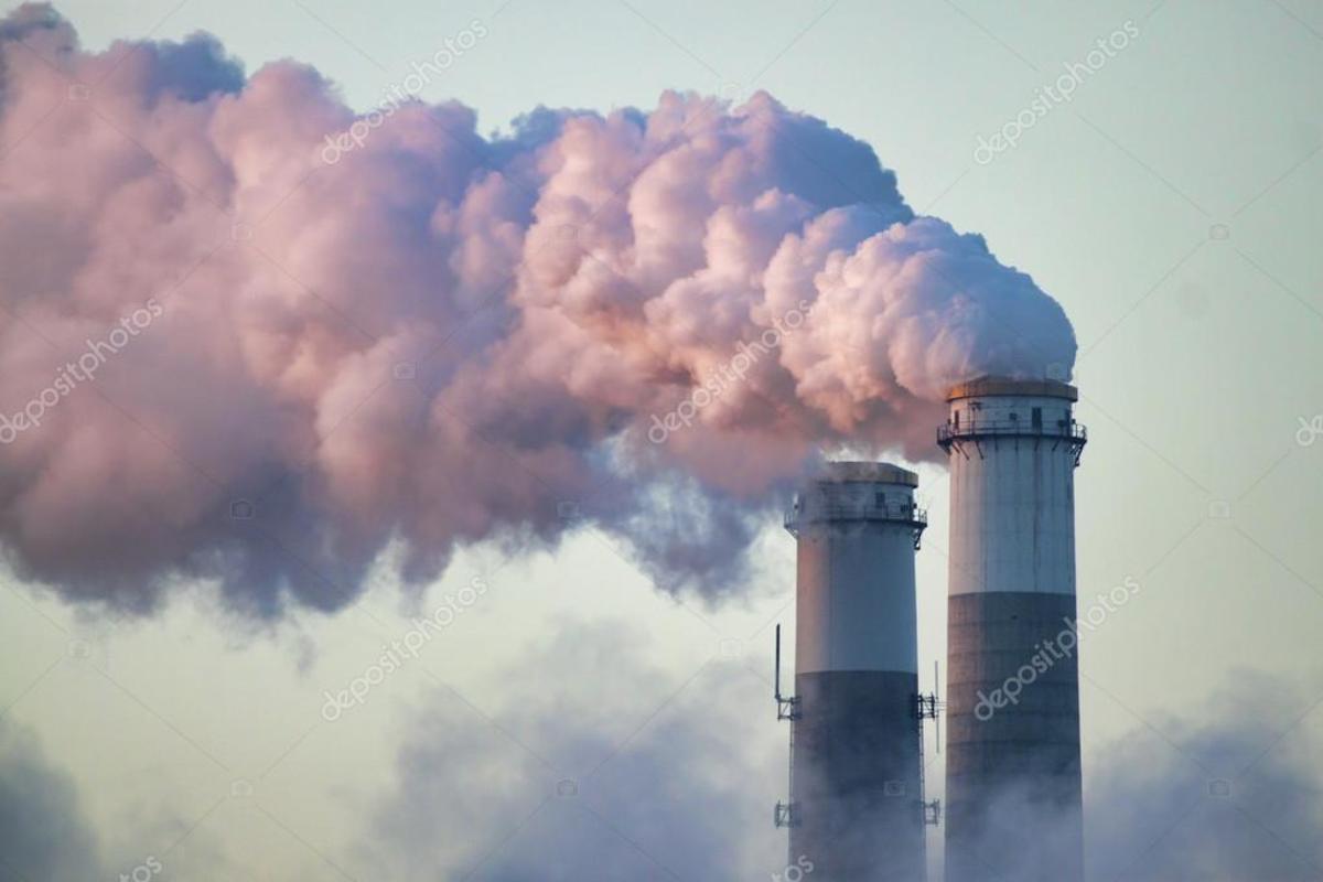 Lonesome smoke stacks pulling away.