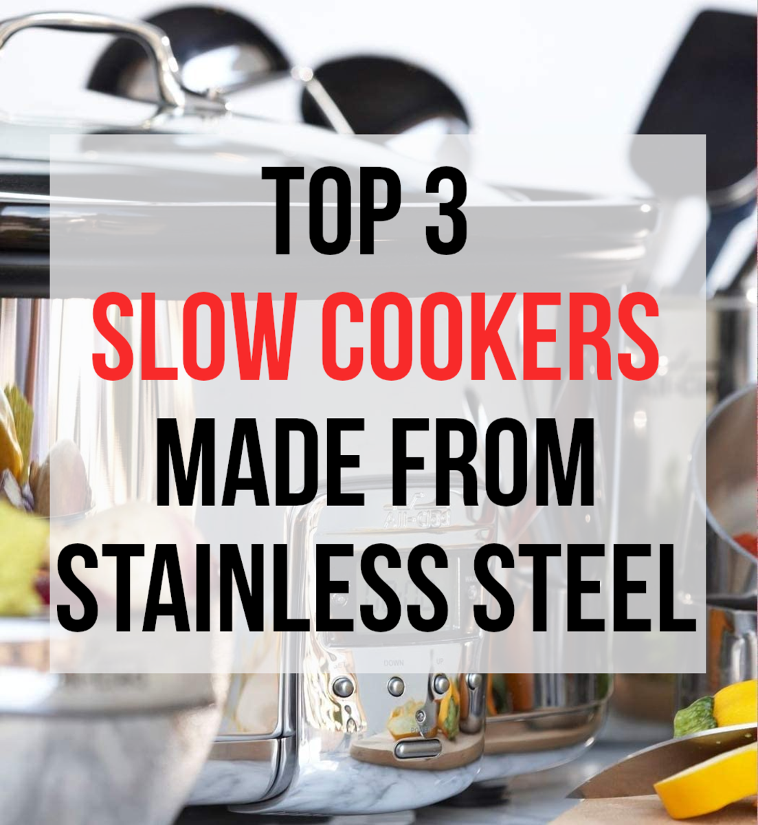 Slow cookers are a great and often easy way to make tasty and healthy meals. This article lists my top 3 recommendations and gives my reasoning and experiences...