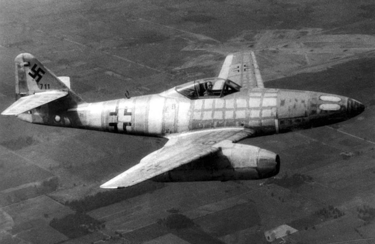 Messerschmitt Me 262, the world's first jet fighter.