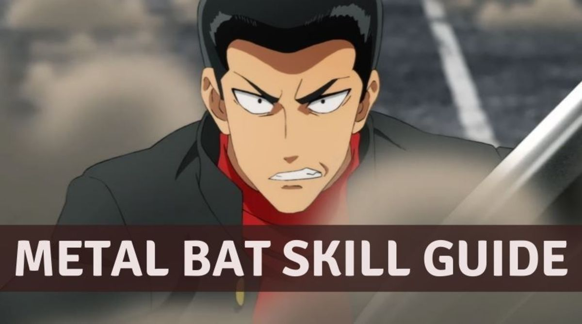 "Metal Bat's Skills in ""One Punch Man: The Strongest"""