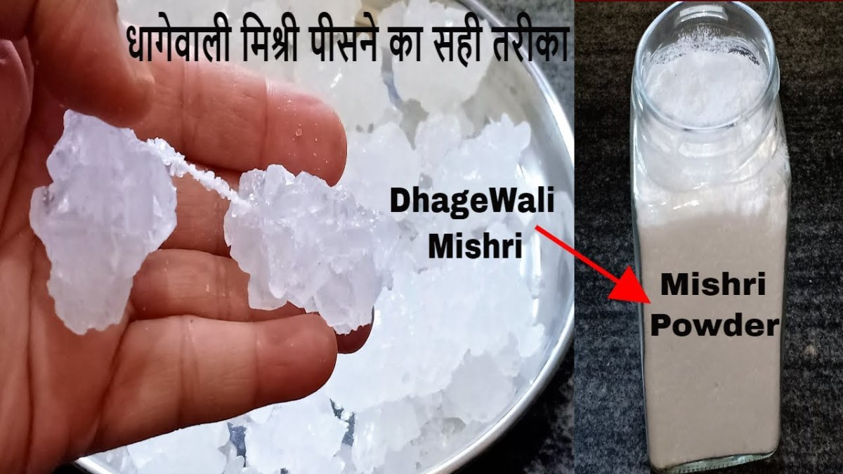 Dhagewali Mishri (Thread Rock Sugar)