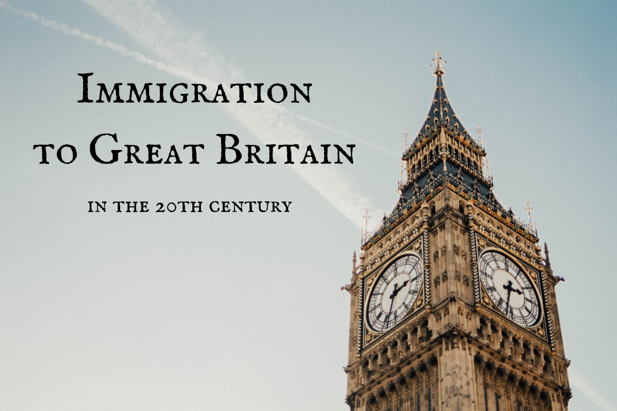 Immigration to Great Britain has evolved quite a bit over the last century.