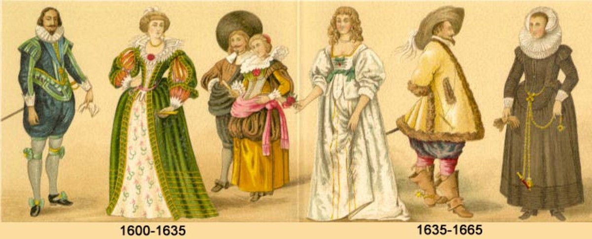 17th century attire in Christendom
