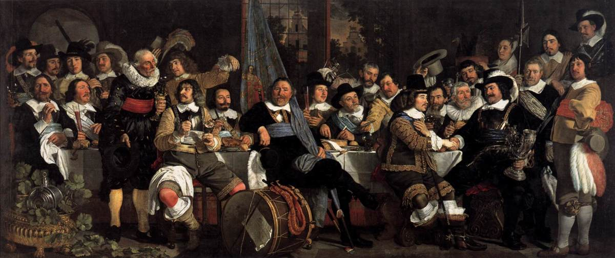 17th century Dutch bourgeoisie
