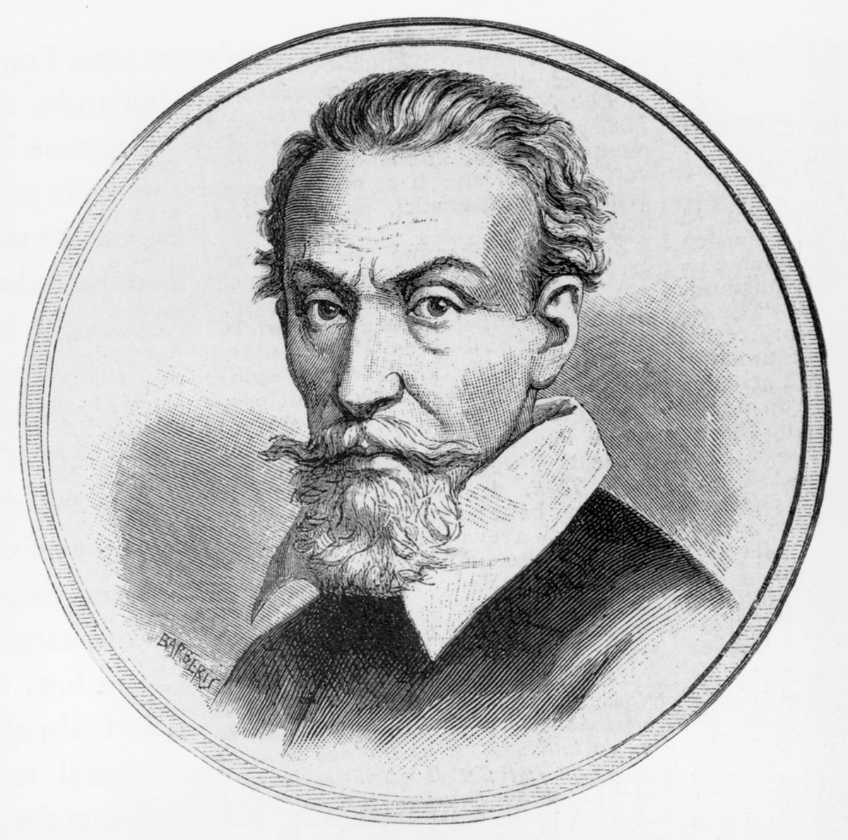 Claudio Monteverdi (ecthing by Barberis)