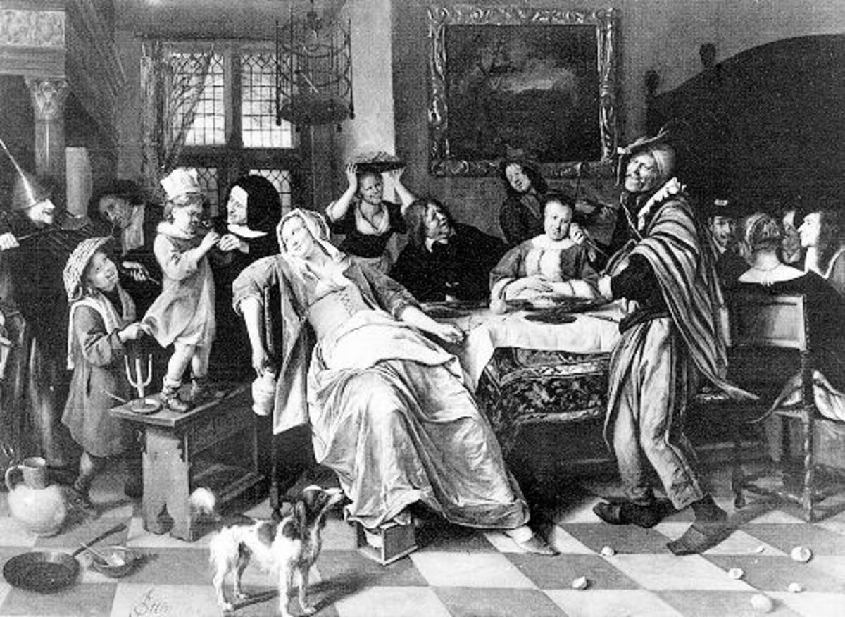 Home life in 17th century Christendom