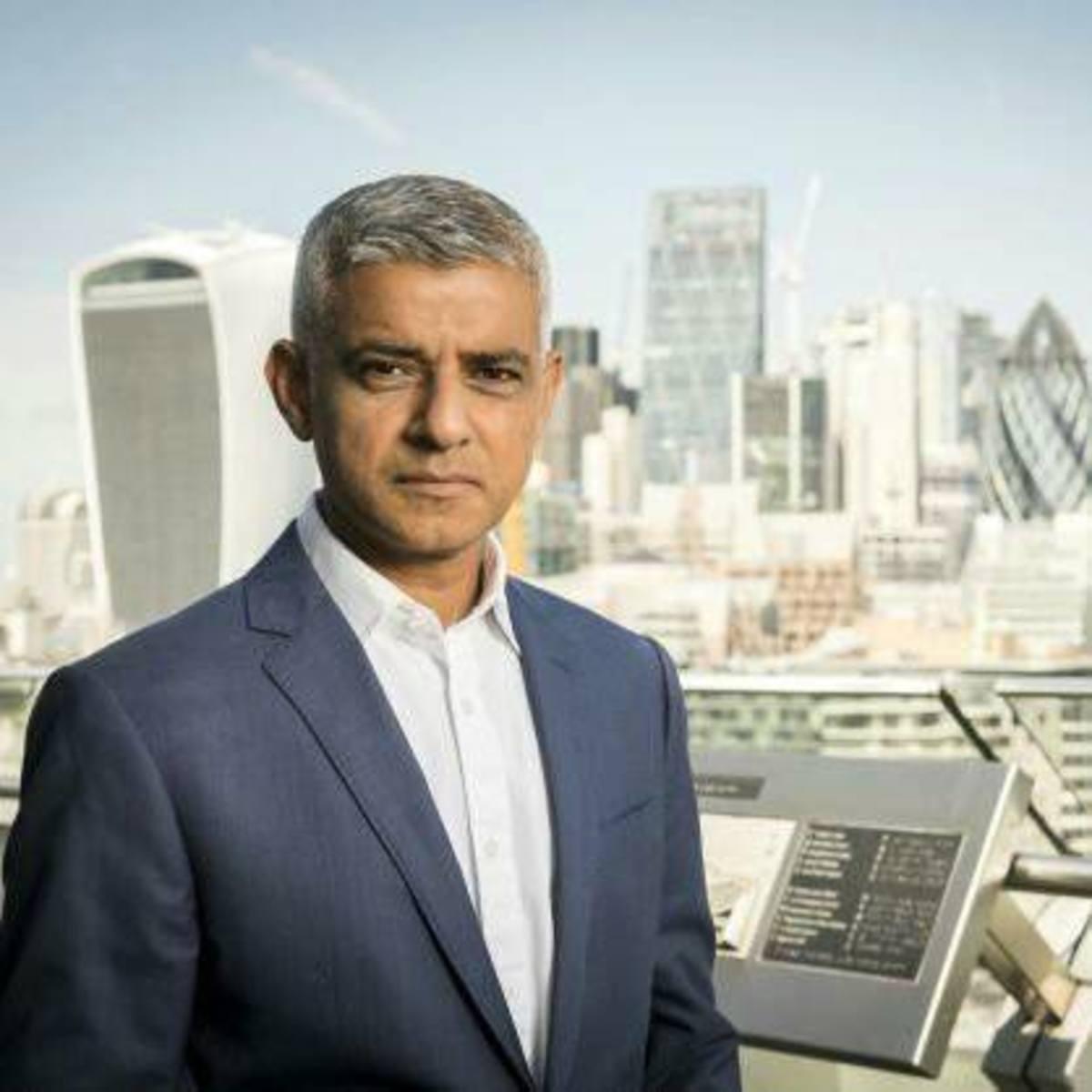 London Mayor:  Sadiq Khan.
