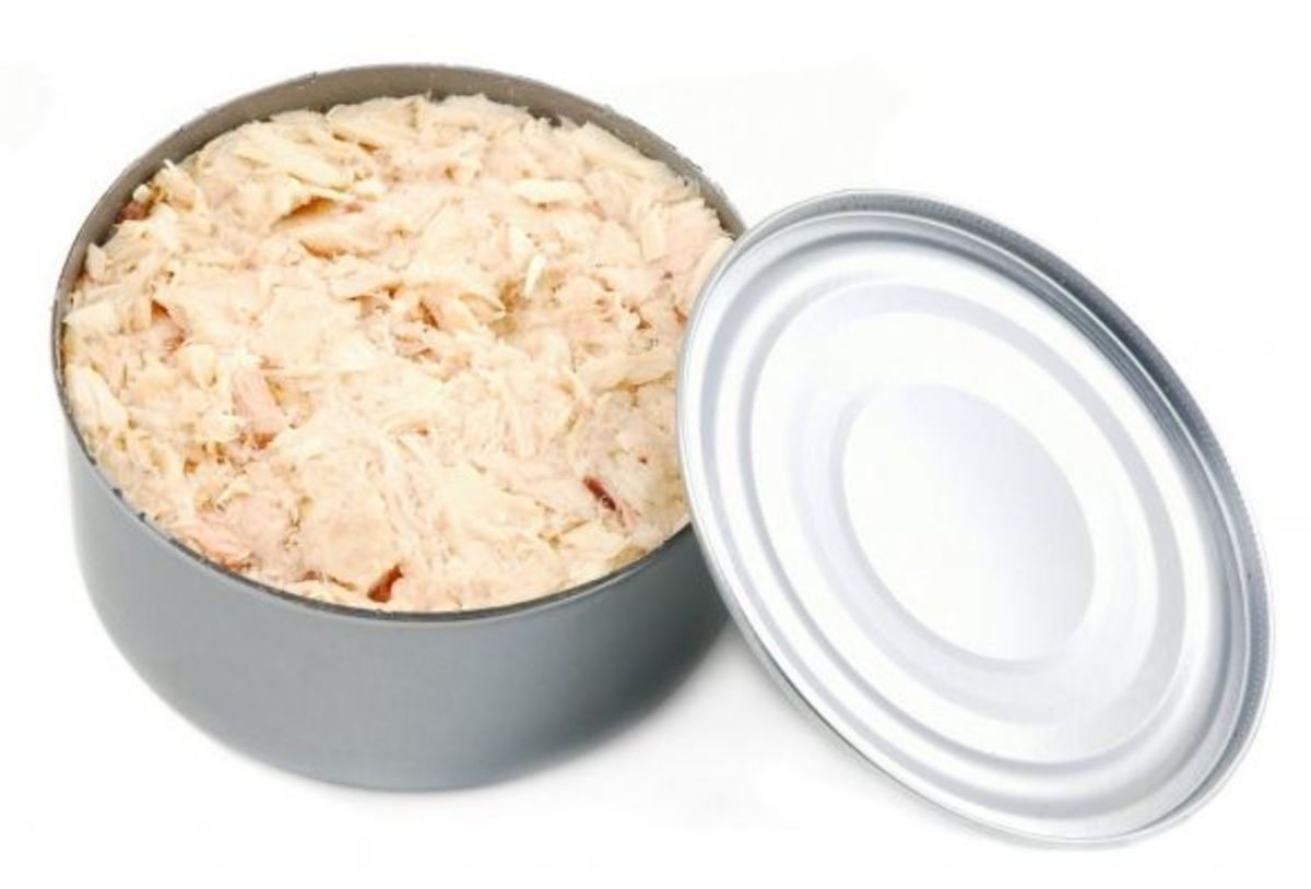 Can of tuna