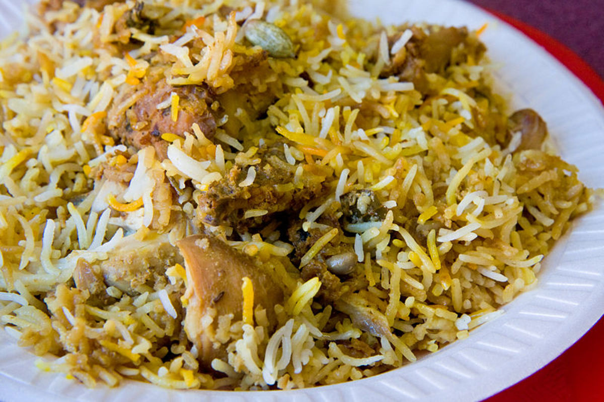 Delicious Hyderabadi Chicken Biryani  Recipe