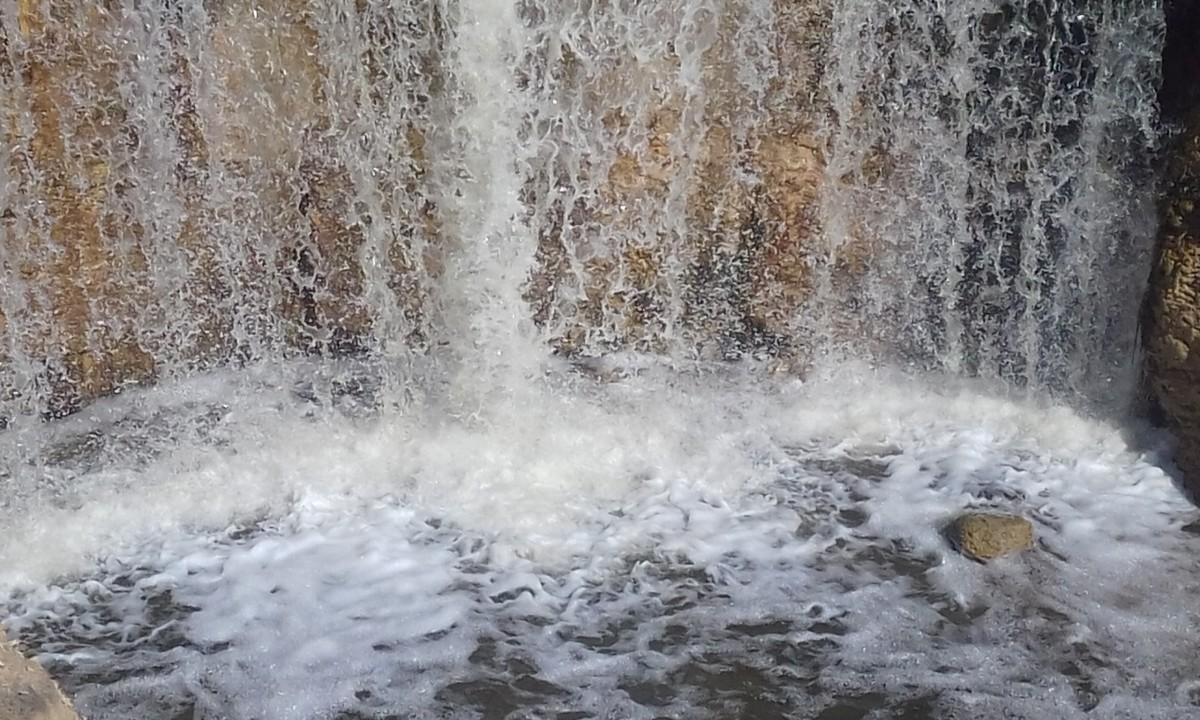 Waterfall of Wadi Al Rayan.