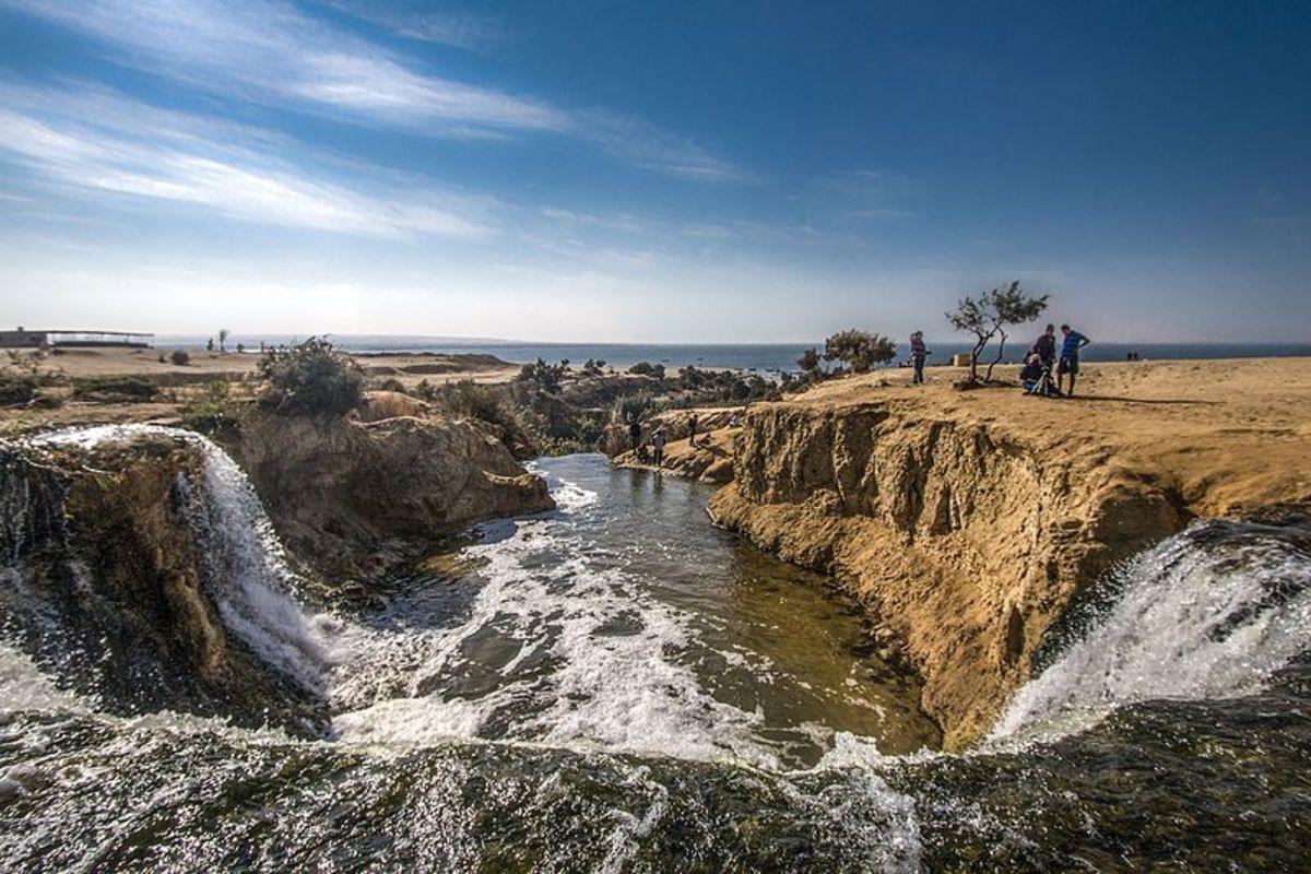 Waterfalls Area.