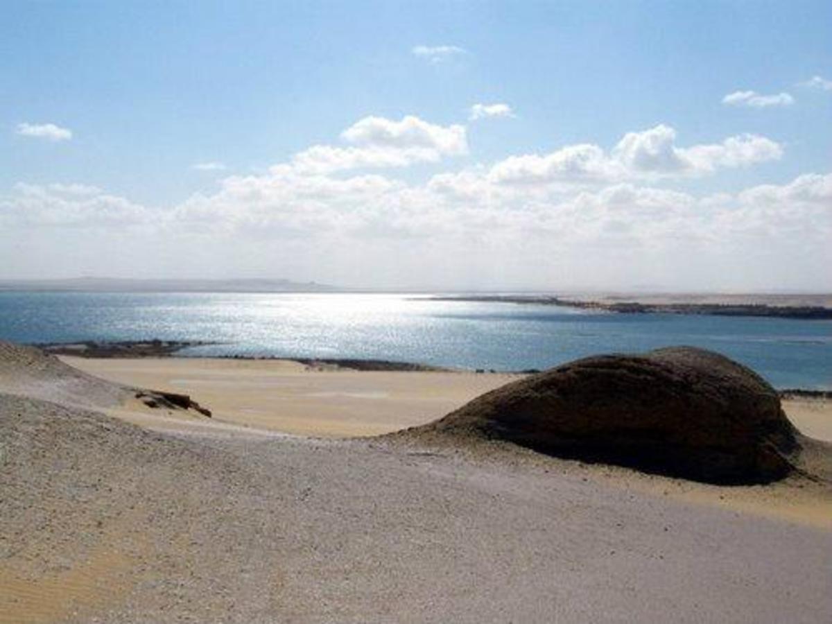 The Upper Lake of Wadi Al Rayan.