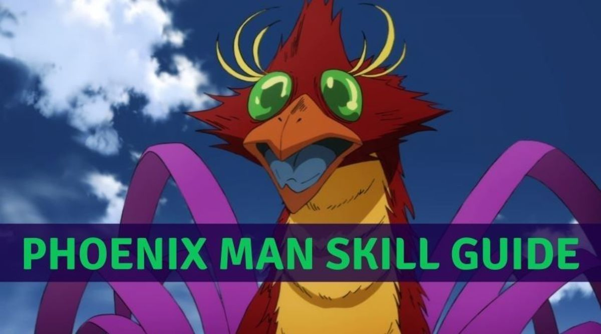 """Phoenix Man's Skills in """"One Punch Man: The Strongest"""""""