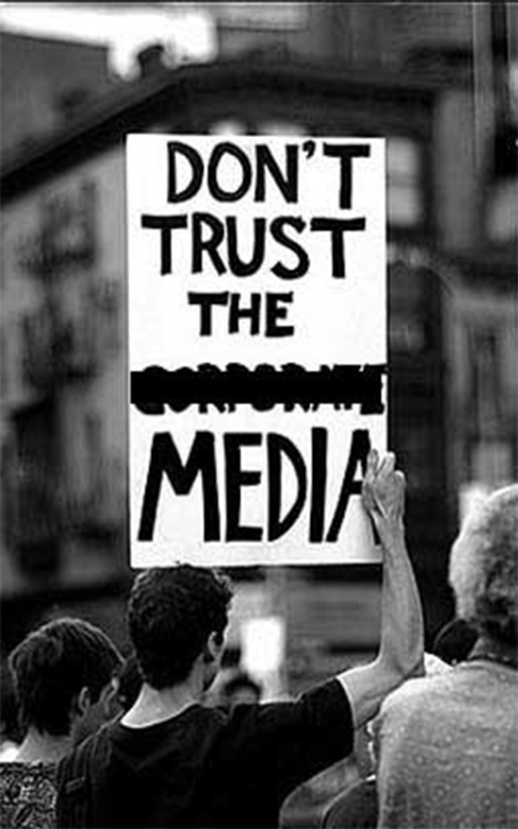 Media Activist and the raising of the power of the media and corporations
