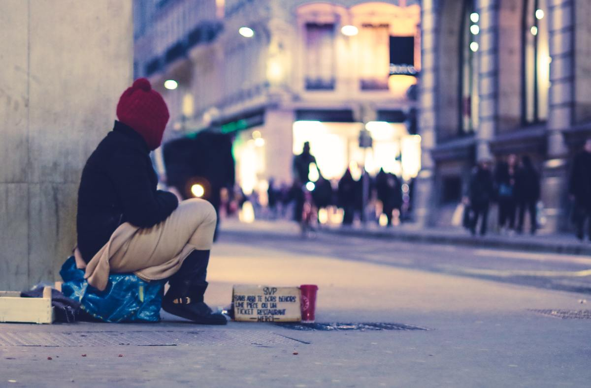 Homelessness is a major problem in the US.