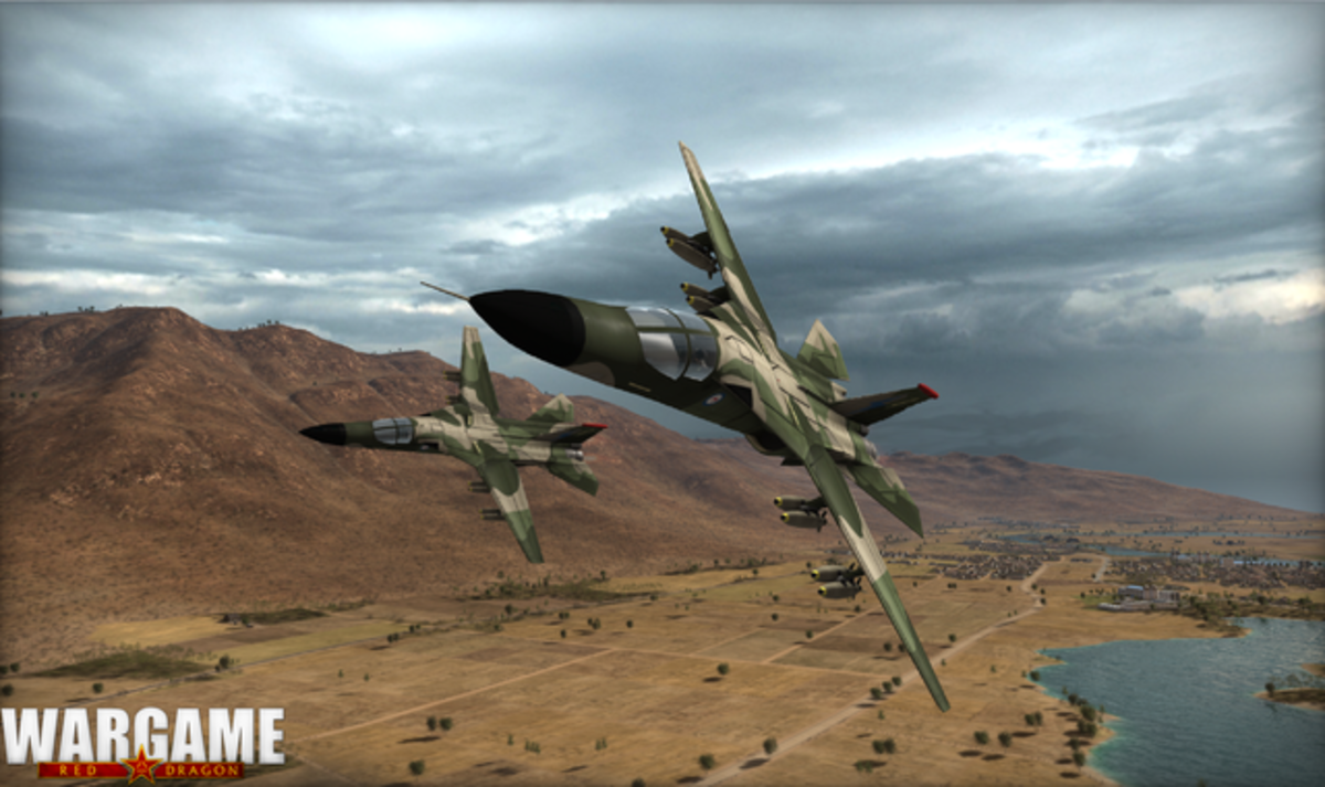 Australia's F-111 bomber is one of the best in the game.