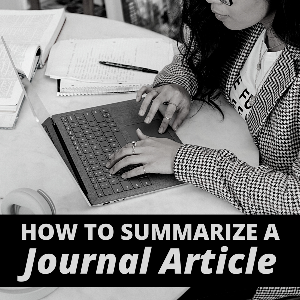 Writing a summary can help you better understand what you've read and how to use it as a source for your own work.