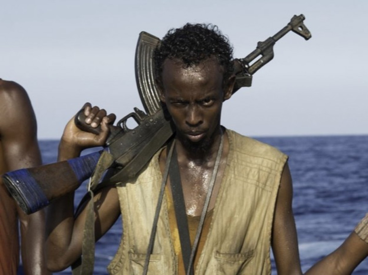 Barkhad Abdi (Captain Phillips)