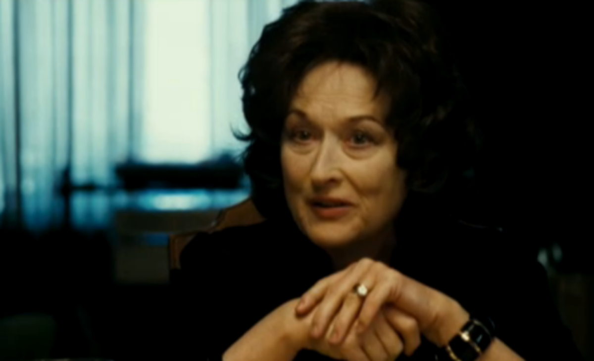 Meryl Streep (August:  Osage County)