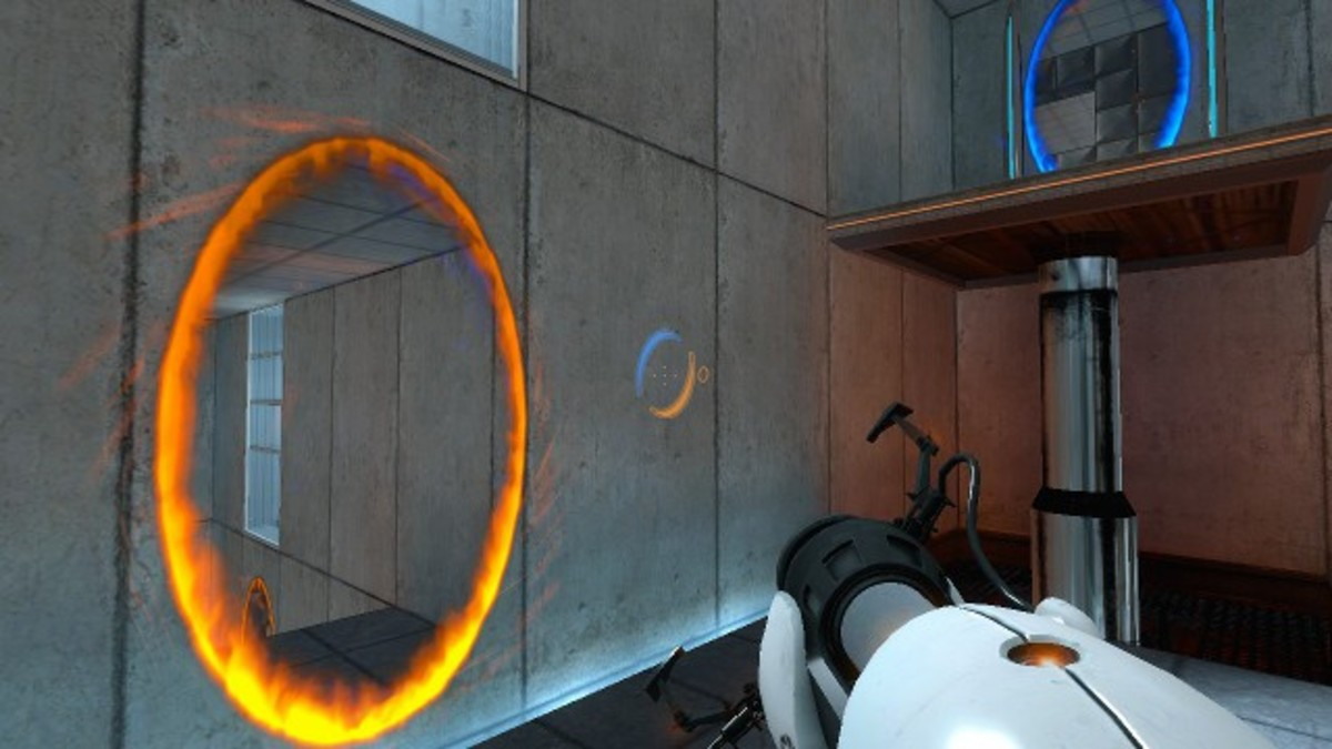 Portal's gameplay is simple, but rich with possibility.