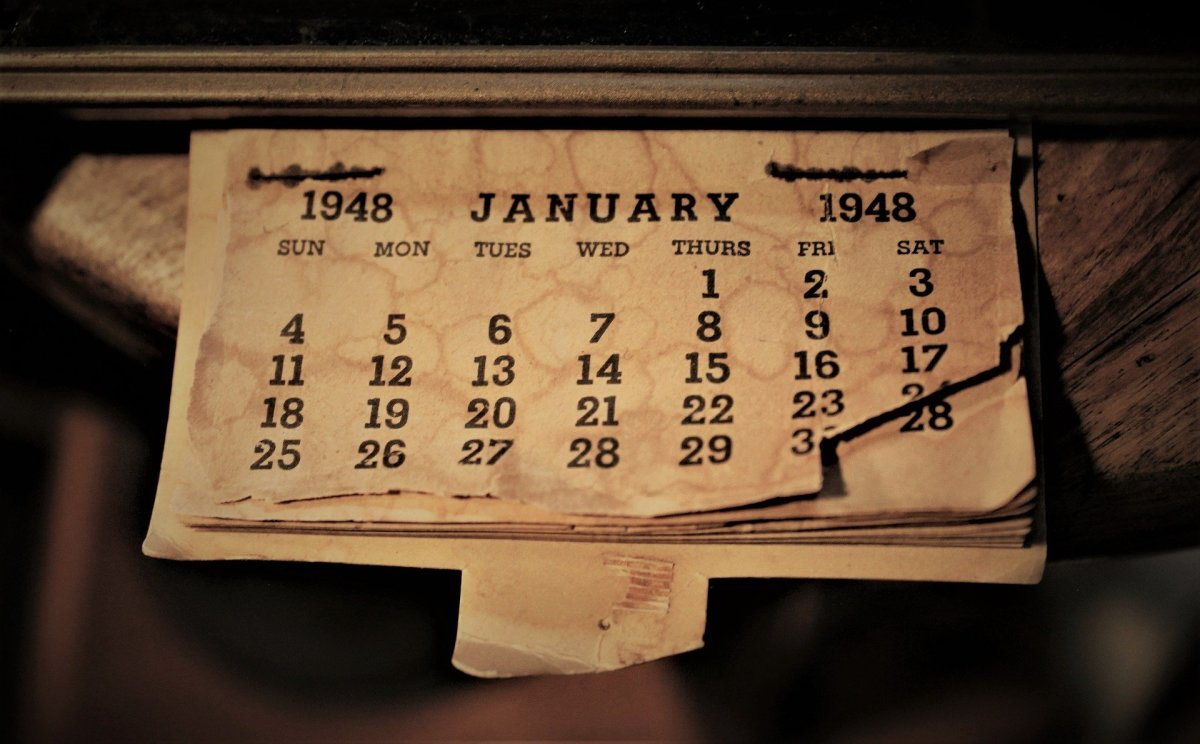 How Far Back Was That First January Designated for Our Big Change in Our New Year's Resolution?