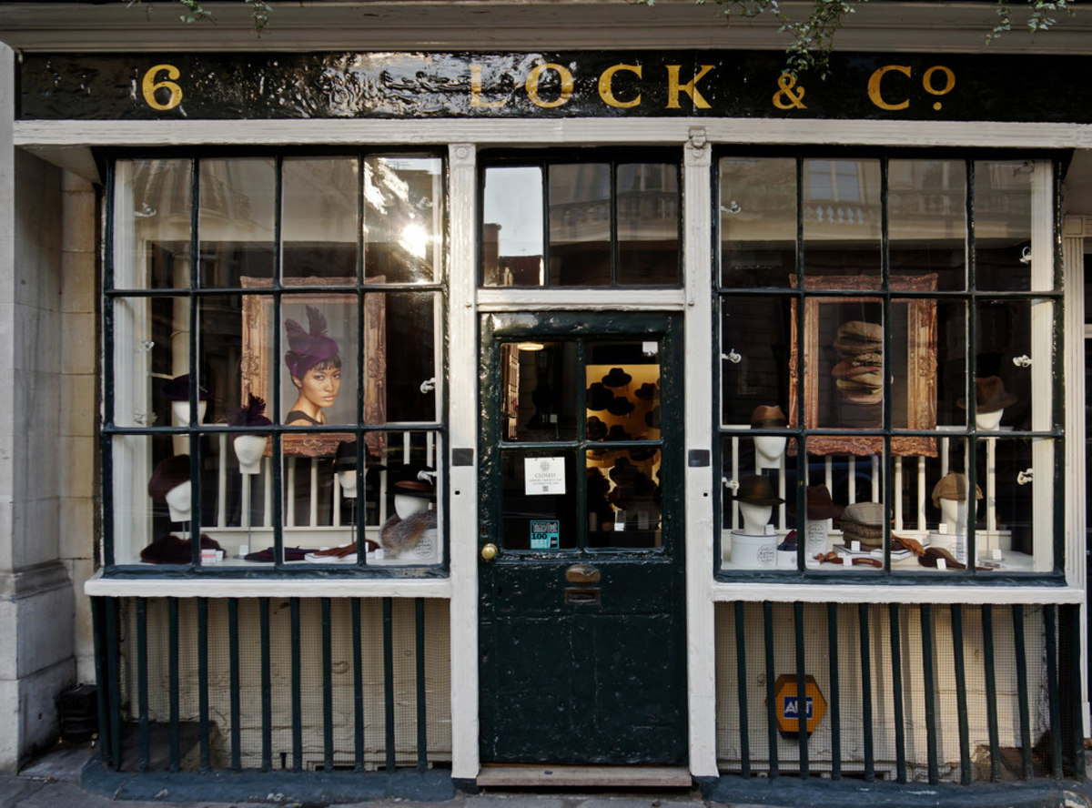 Lock & Co is still in business at its original address.