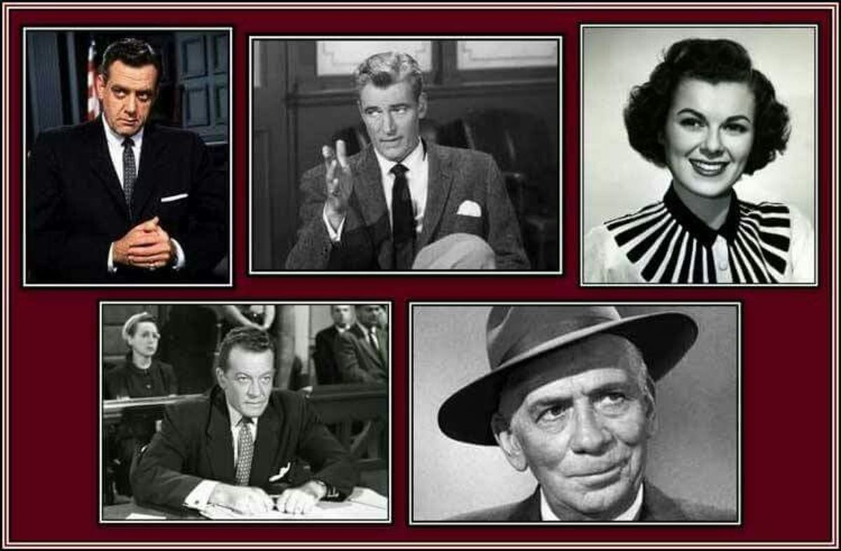 In 1961, Perry Mason was one of the most popular TV shows.