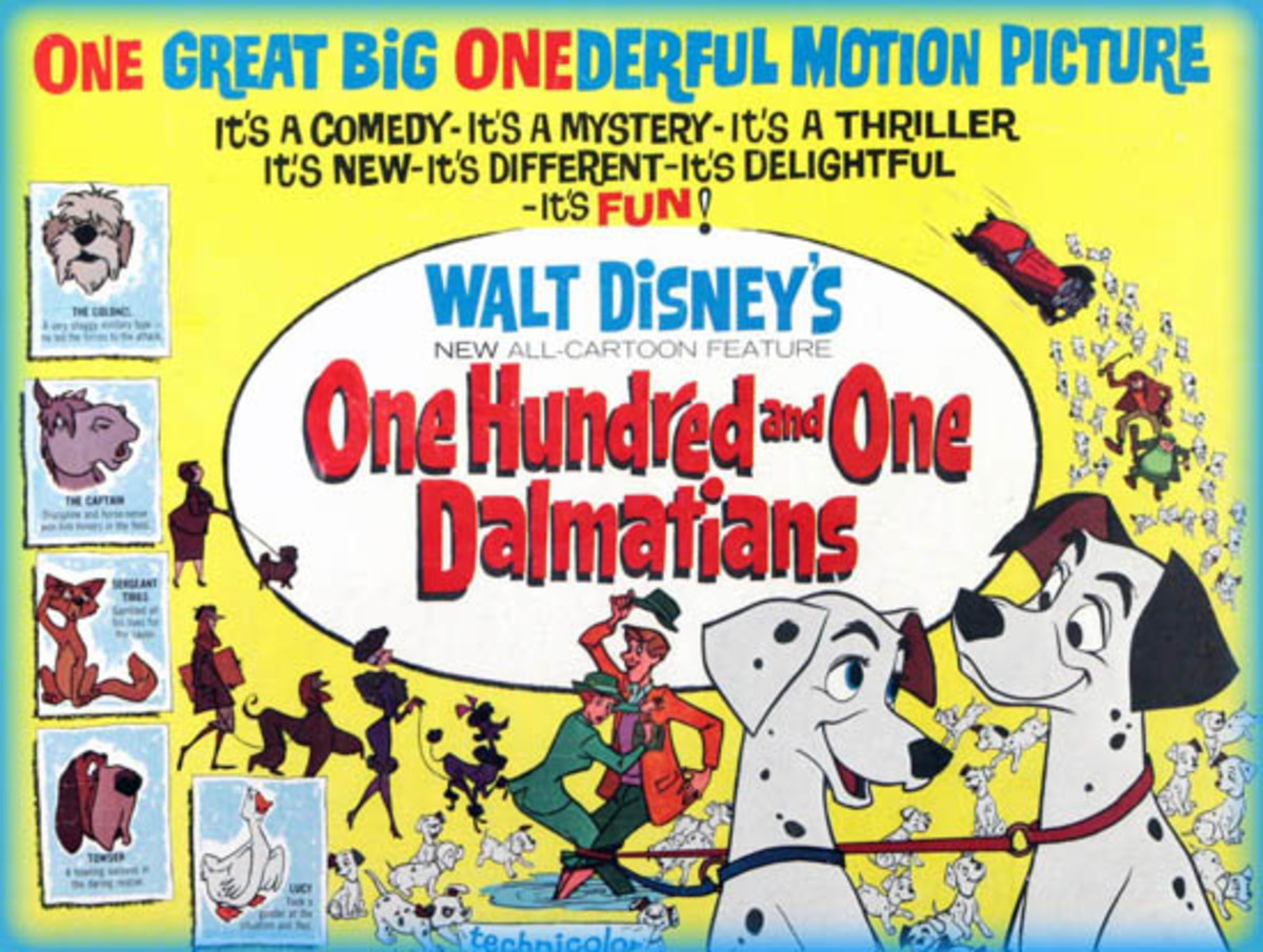In 1961, Disney's 101 Dalmatians was the highest-grossing film.