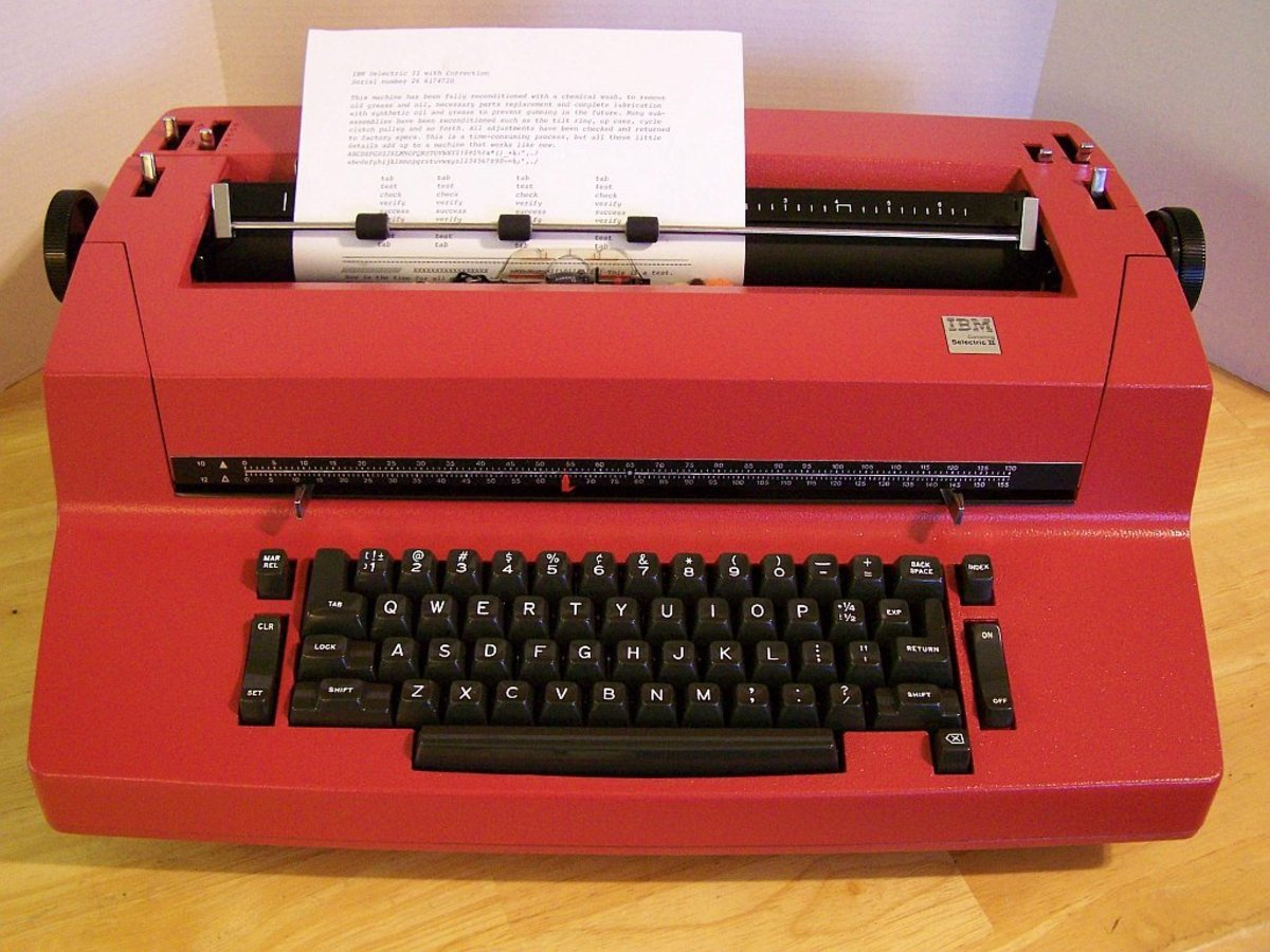 In 1961, the highly successful IBM Selectric typewriter was introduced.