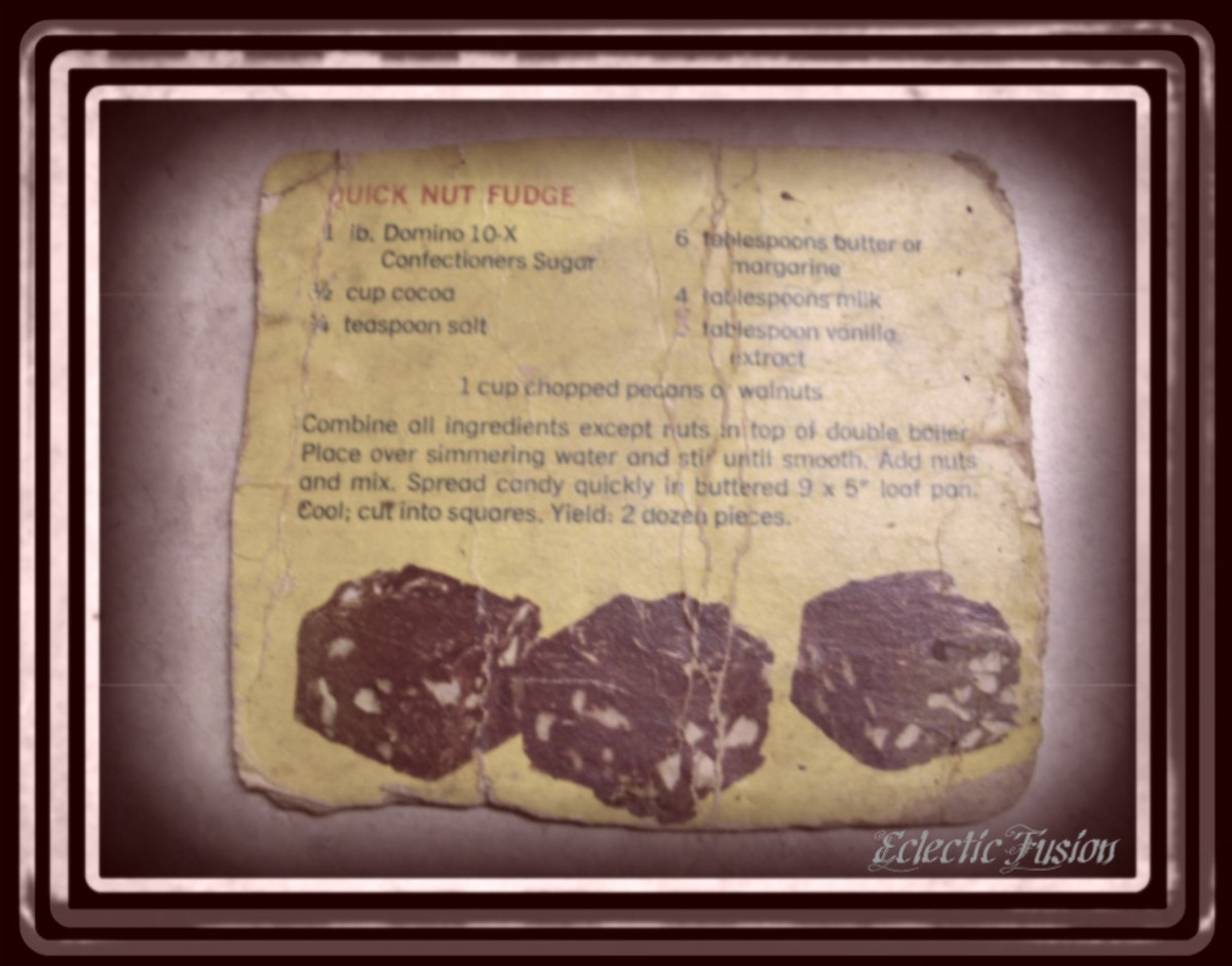 Recipe For Quick Nut Fudge