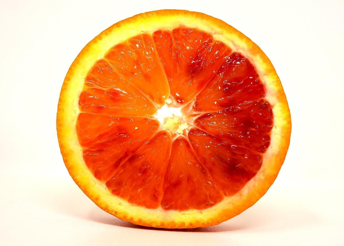 Slice of Blood Orange