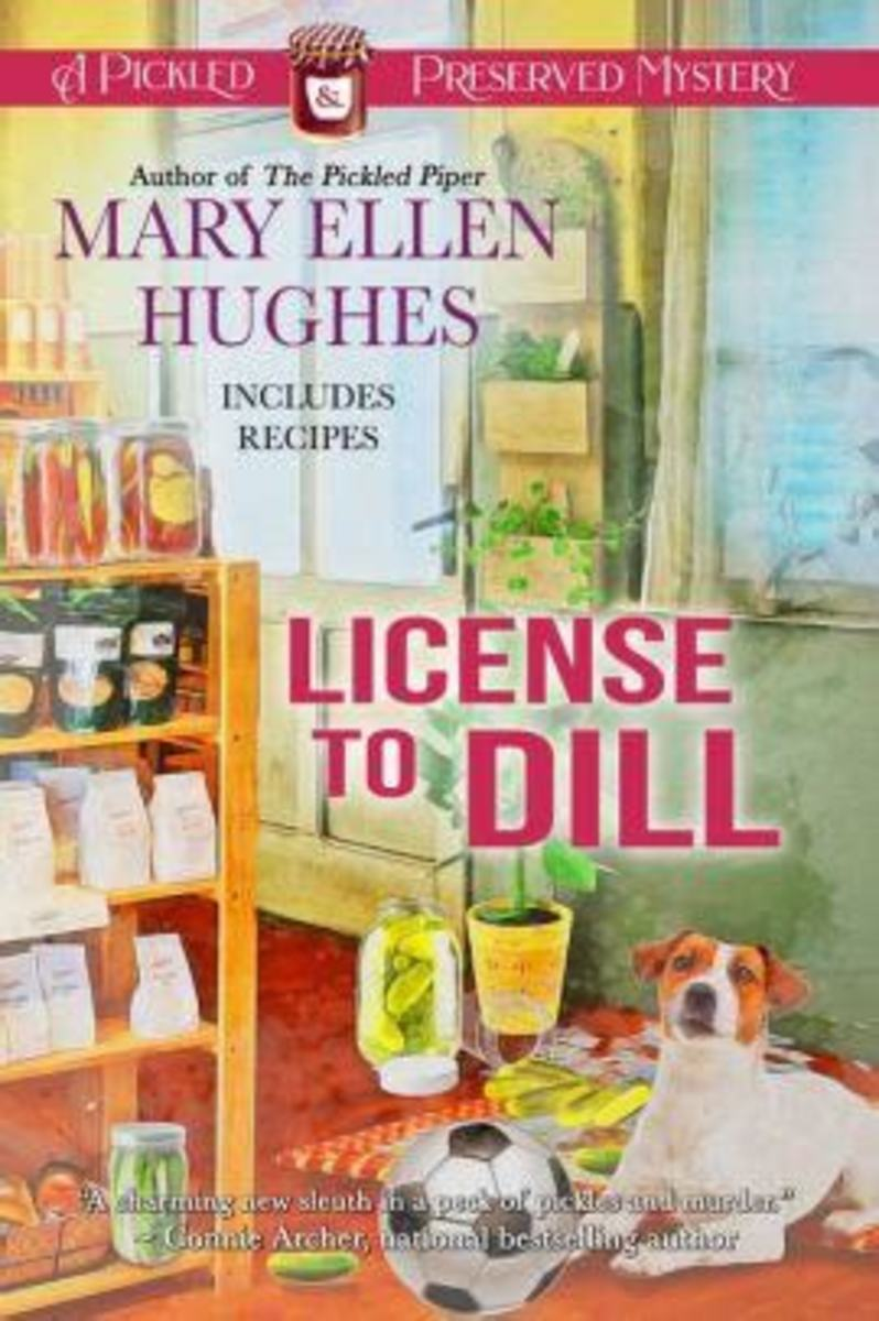 Book Review: License to Dill by Mary Ellen Hughes