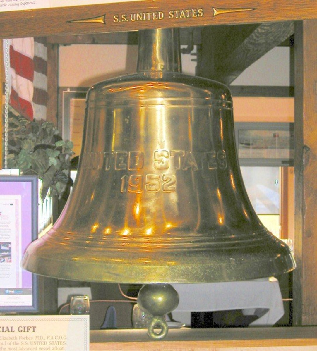 The ship's bell resides at Windmill Point Restaurant  in Nags Head, NC. The restaurant uses original furniture from the SS United States and displays many artifacts.