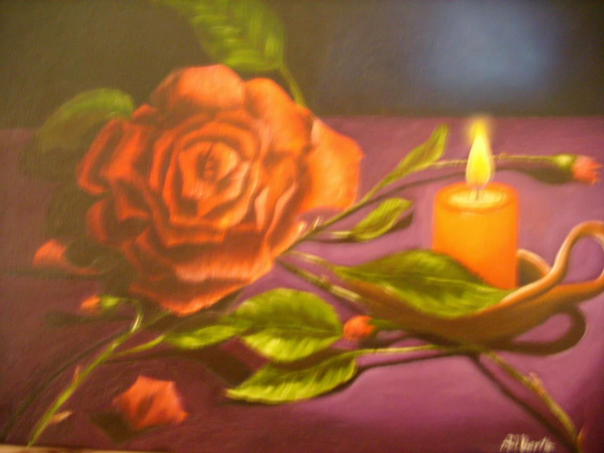 L. Alberts Painting