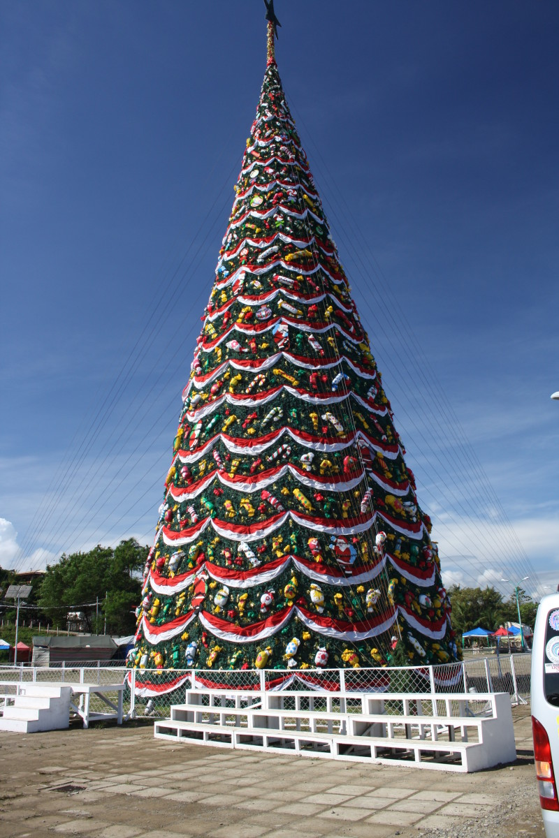 Christmas Tree in Puerto Princesa, Palawan, Philippines