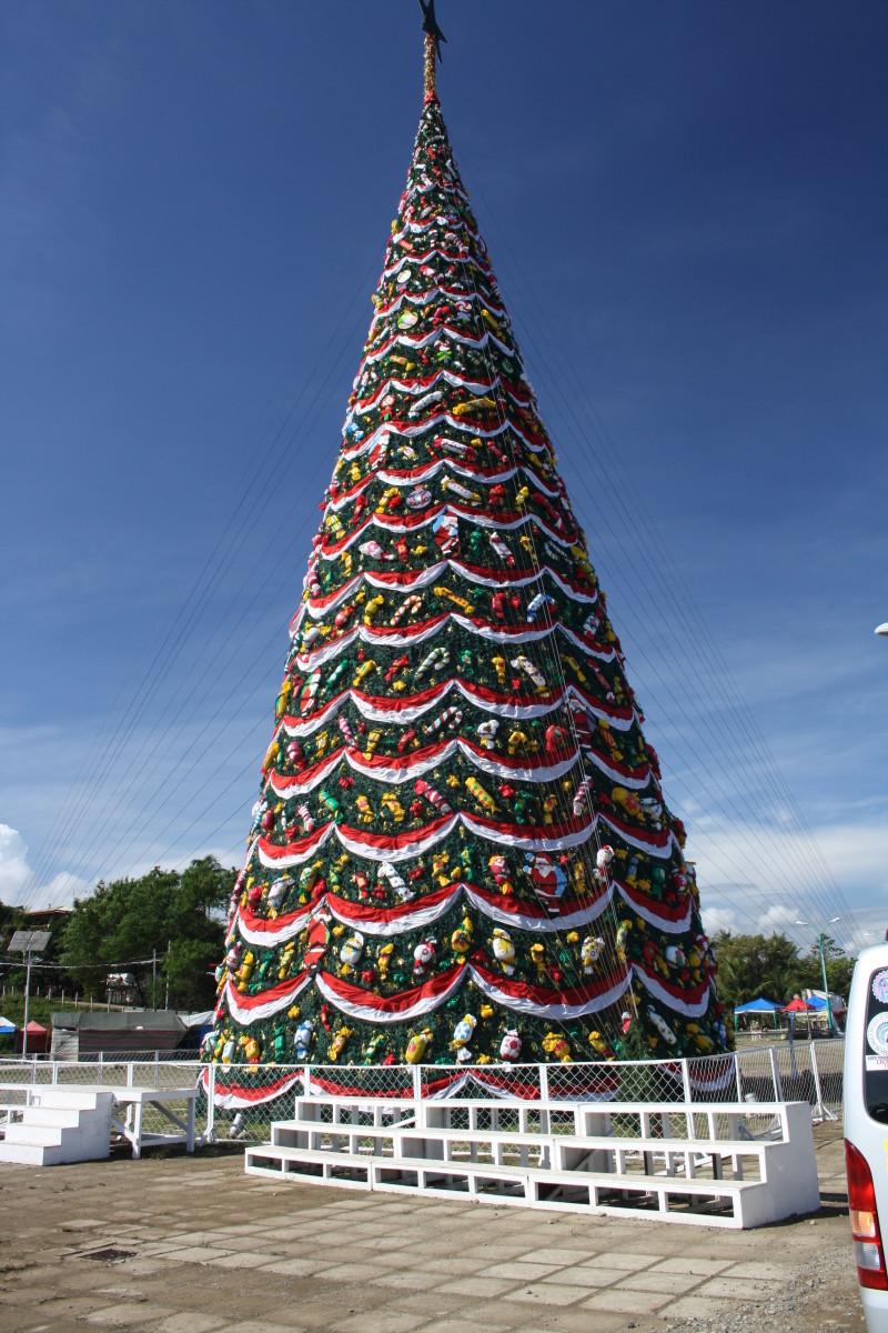 Christmas Tree in Puerto Princesa, Palawan, Philippines