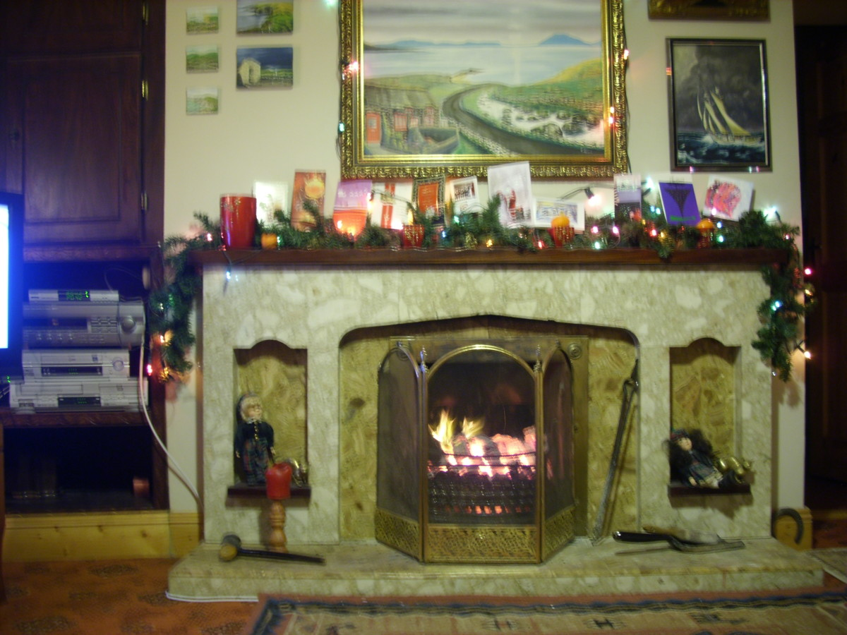 Our Irish Living Room