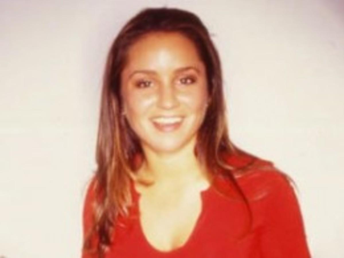 Baby faced young Veronica Portillo