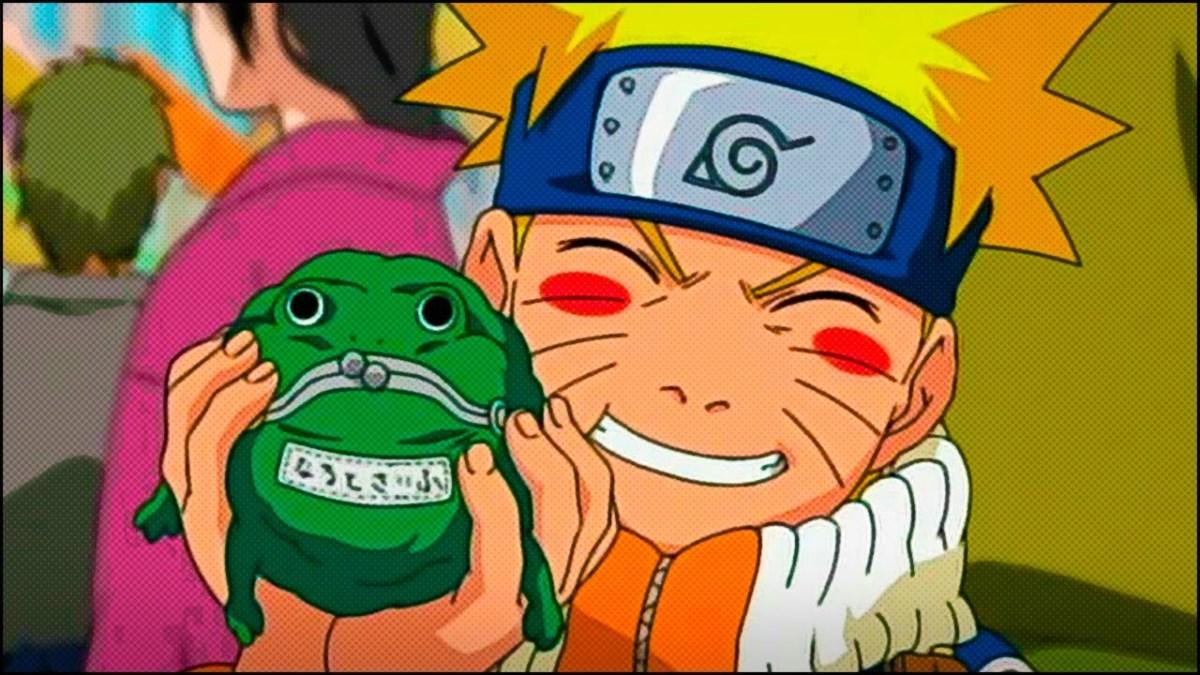 Naruto Uzumaki as a child