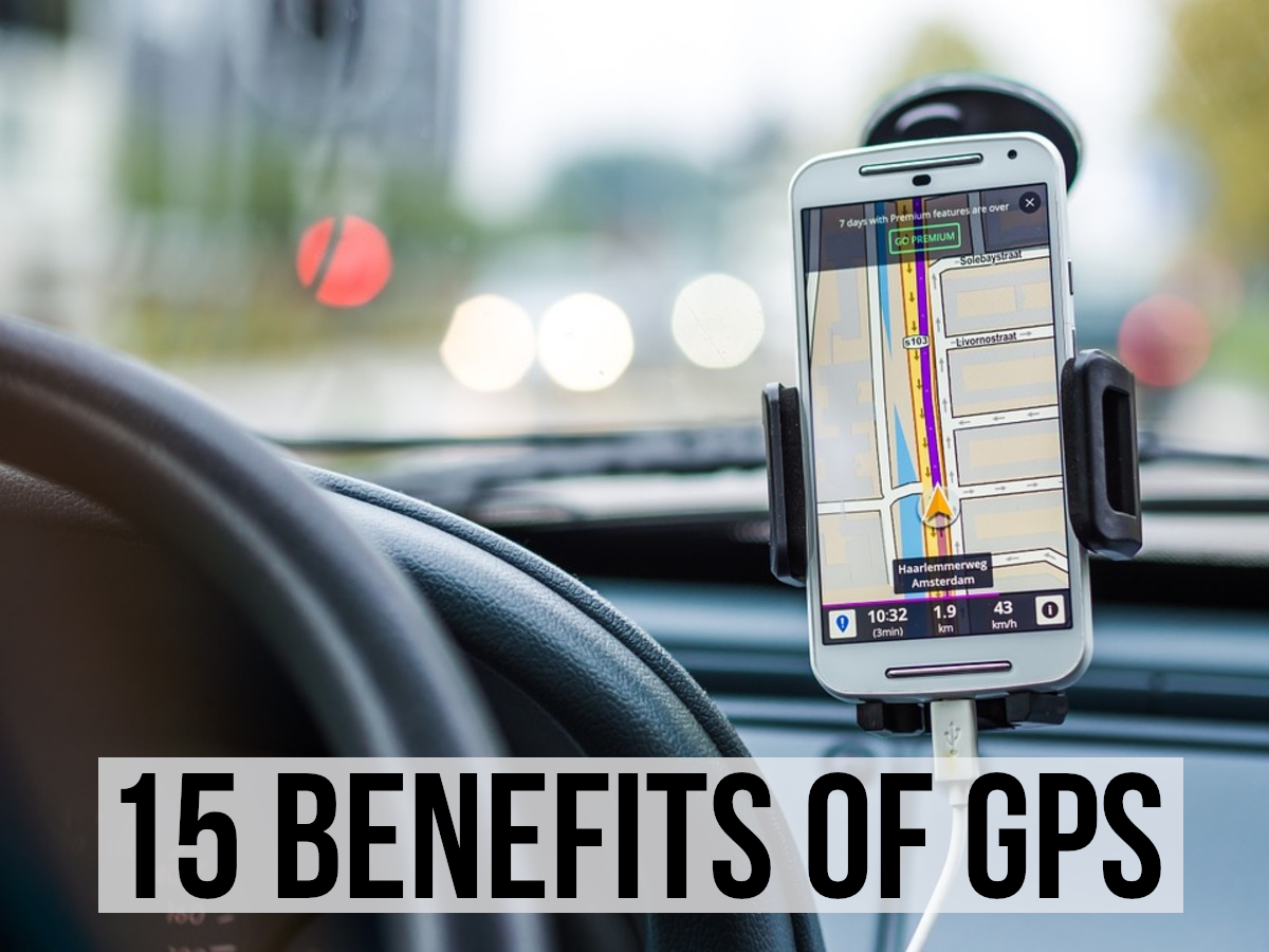 GPS becomes a very powerful tool when combined with other technologies. Read on for 15 advantages of GPS...