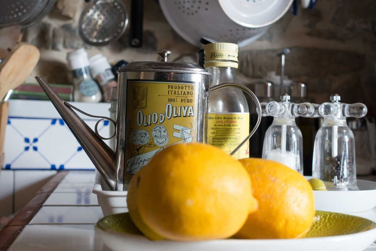 Lemon juice and olive oil make a refreshing, flavorful cookie.