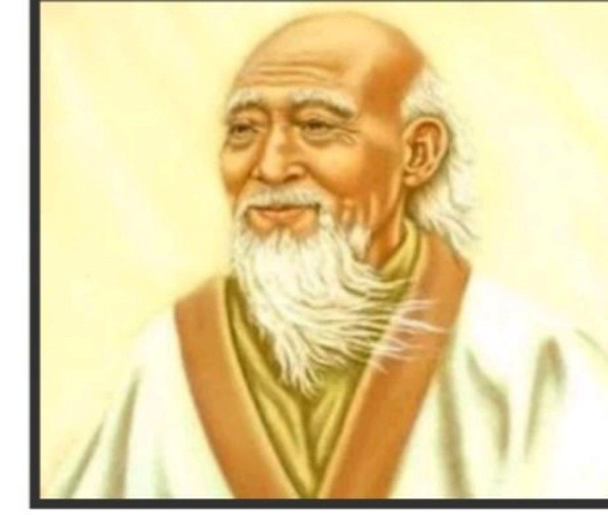 Laozi, image
