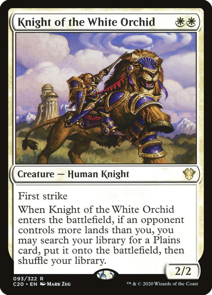 Knight of the White Orchid mtg