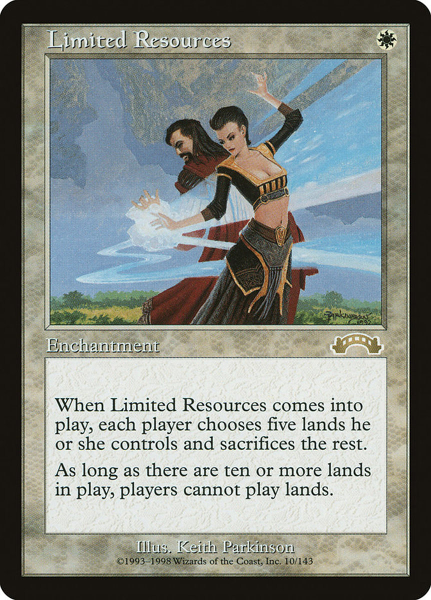 Limited Resources mtg