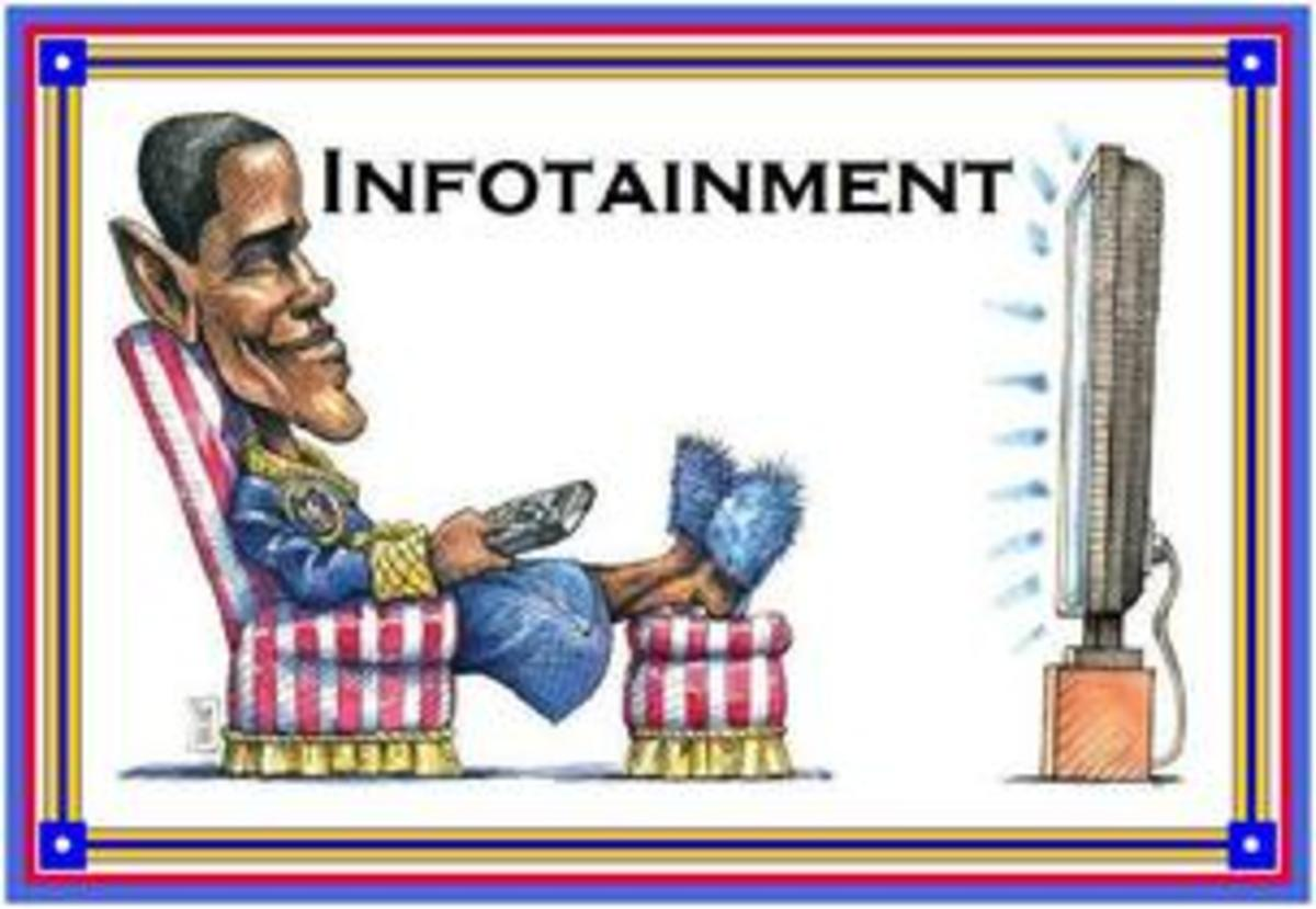 the effects of infotainment on society Home pen & pad mass media and its influence on society  these are the effects of mass media especially in teenagers, they buy what they see on tv,.