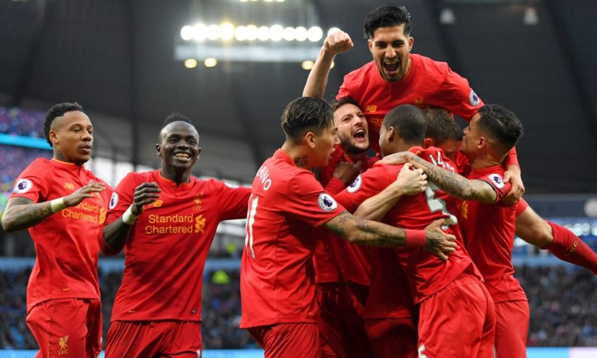 Liverpool FC during the 2016-17 season