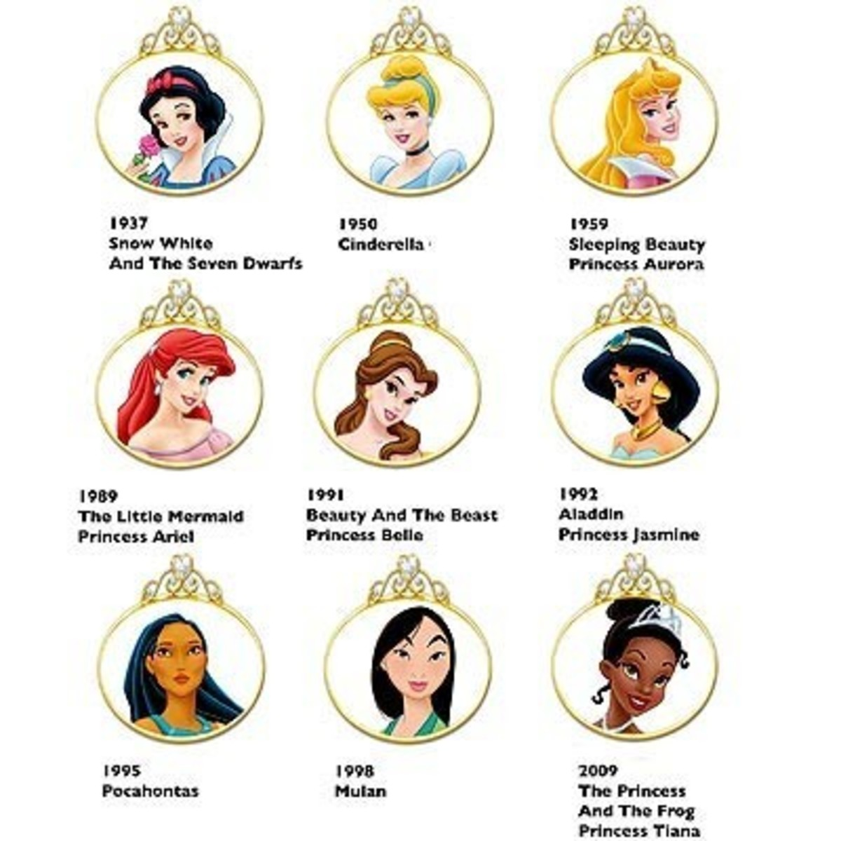 The last 4 Disney Princesses are of ethnic/exotic origin :D
