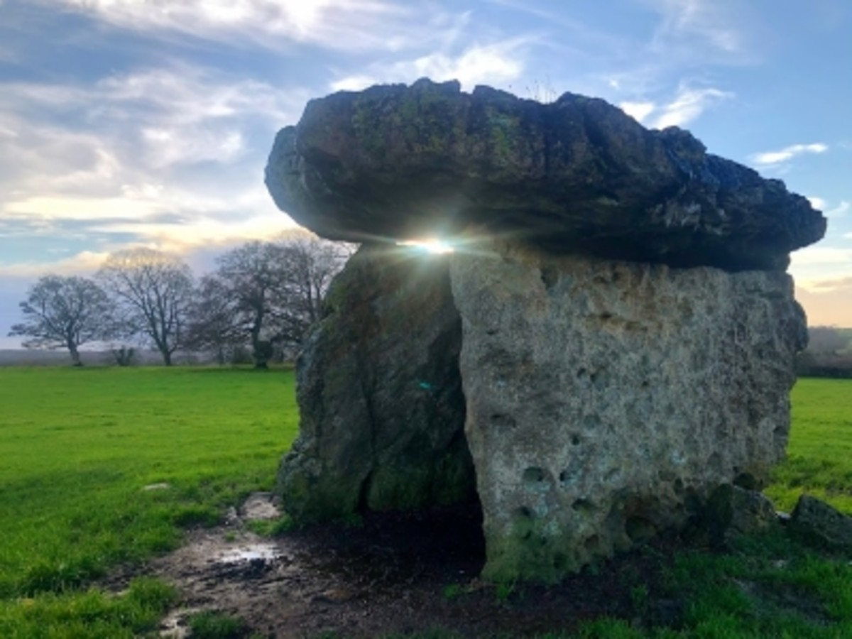 St. Lythans Burial Chamber.