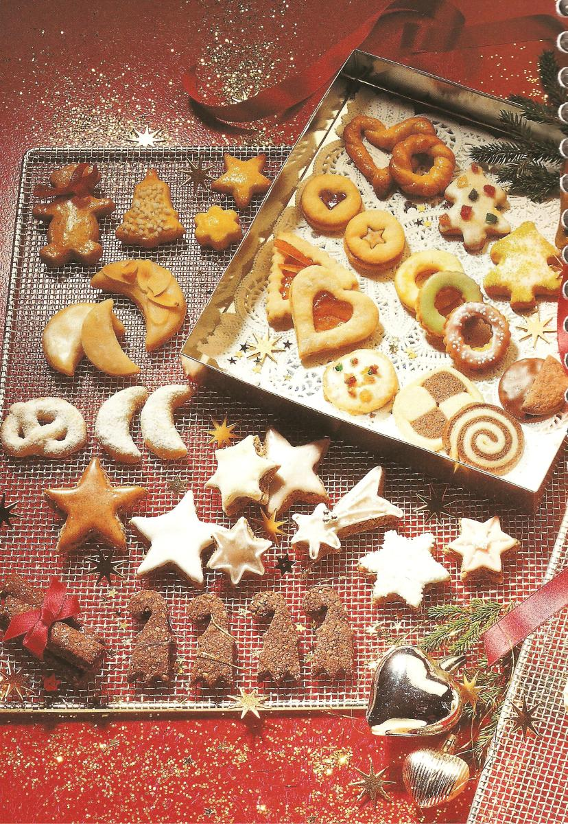Swiss christmas cookies actually taste as delicious as they look